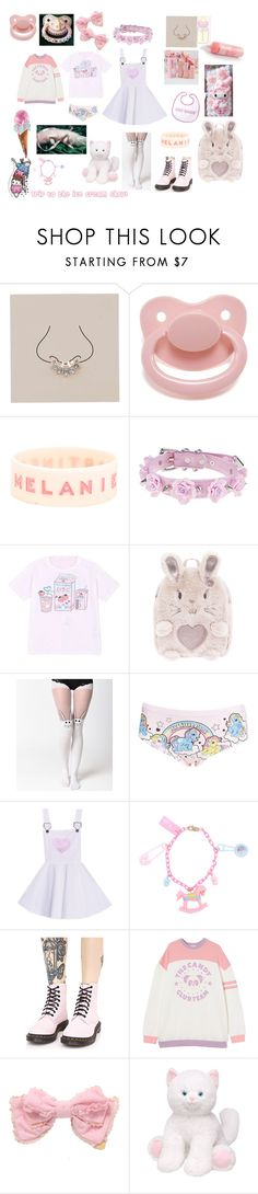 """Trip to the Ice cream shop, set for a friend!"" by littlegirl941 ❤ liked on Polyvore featuring Miss Selfridge, Hot Topic, Accessorize, Topshop and Dr. Martens"