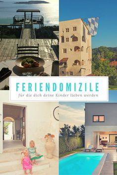 Nicht einfach eine Ferienwohnung. Mehr als ein Ferienhaus. Auf dem Blog zeige ich 5 Feriendomizile, für die dich deine Kinder lieben werden: www.berlinfreckles.de Ein Burgturm in #Bayern, eine Villa in #Istrien, eine Villa auf #Kreta, ein Palazzo in #Apulien und ein Hausboot in #Kopenhagen. Bilder und Feriendomizile gefunden auf @homeawayde  #Ferienhäuser #Ferienwohnungen #Familienurlaub
