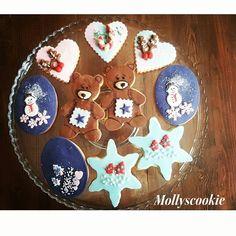 Instagram : #mollyscookie #cookies #cookie #christmas #merrychirstmas #noel #kurabiye