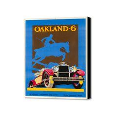 "Oakland 6 (20"" x 16"")"