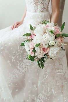 Букет невесты с пионовидными розами #букетневесты  #свадебныйбукет #нежныйбукет #bouquet #bride