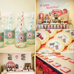 Fave!  Love the color palette and look of this party!