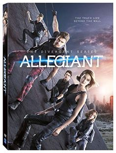 Divergent Series, The: Allegiant (DVD + UltraViolet) on DVD from Lions Gate Films. Staring Ansel Elgort, Octavia Spencer, Miles Teller and Theo James. More Action, Mystery and Thrillers DVDs available @ DVD Empire. Tris Et Tobias, Tris Und Four, New Movies, Movies Online, Movies And Tv Shows, Watch Movies, Disney Movies, Divergent Insurgent Allegiant, Divergent Series