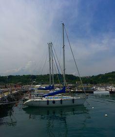 Sailboat in Ortona