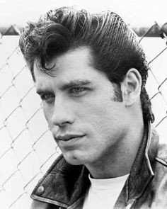 'John travolta grease' Poster by robadict Grease Hairstyles, 1940s Hairstyles, Braided Hairstyles, Braided Updo, Prom Hairstyles, Grease 1978, Grease Movie, Danny Grease, Pinterest Design