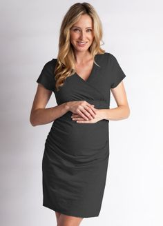 Simple maternity dress - great for work or weekend wear