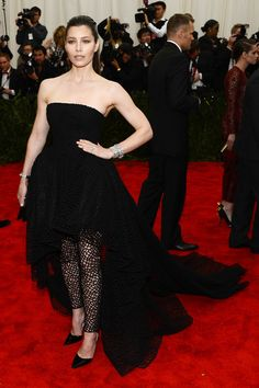 Jessica Biel | All The Looks From The Met Gala Red Carpet