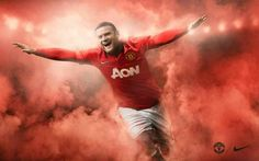 Wayne Rooney in the new 2013/2014 Home kit.