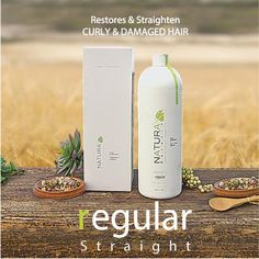 NATURA KERATIN TREATMENT REGULAR   Brazilian Keratin Treatment with Organic Ingredients  Restores and Straighten CURLY & DAMAGED HAIR - For up to 5-6 months. Aloe Vera base Keratin Formula Herbal Infused
