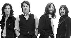 Awesome Rare BW John Lennon Paul McCartney Giant Print POSTER Plakat