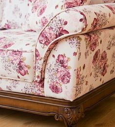 Floral Sofa Custom Made