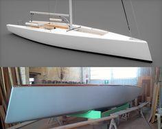 On en voit défiler, des jolis projets de jolis bateaux. On en reçoit des études, des vues 3D et des descriptifs dithyrambiques… Il est plus rare que ces projets quittent l'écran de l'ordinateur pour prendre vie dans le monde réel. Mais ici, en guise d'introduction, le jeune architecte italien Alessandro... Lire la suite...
