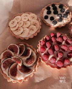 Think Food, I Love Food, Good Food, Yummy Food, Kreative Desserts, Cute Desserts, Food Goals, Cafe Food, Aesthetic Food