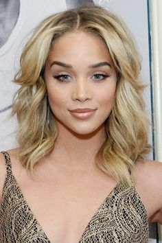 11 CelebritiesThat Will Make You Want Buttery Blonde Hair - Jasmine Sanders from InStyle.com