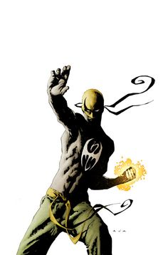 The Immortal Iron Fist by David Aja