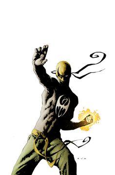 The Immortal Iron Fist by David Aja