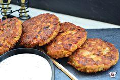 RossGastronómica: Hamburguesas de atún Tandoori Chicken, Salmon Burgers, Healthy Recipes, Healthy Food, Pork, Meat, Cooking, Ethnic Recipes, Tuna Burgers