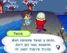 Animal Crossing: Wild World> that's some deep stuff man