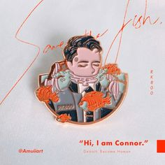 2nd Pre-Order // Detroit: Become Human Connor Enamel Pins