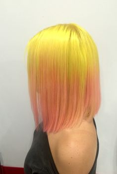 #yellow#cottonpink#beauty#goldwell