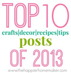 Top Ten Posts of 201