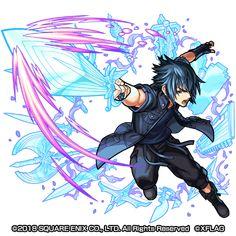 Noctis Lucius Calem Final Fantasy Artwork, Final Fantasy Characters, Fantasy Heroes, Final Fantasy Xv, Fantasy World, Noctis And Luna, Monster Strike, Character Art, Character Design