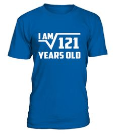 T shirt  Square Root of Years Old Birthday Shirt  fashion trend 2018 #tshirt, #tshirtfashion, #fashion