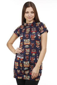 Owl Print Fleece Dress @ Everything5pounds.com