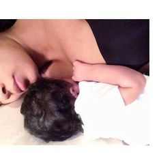 Monica brown and her baby girl