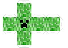 Creeper:Kopf