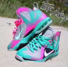 Nike Lebron 9 South Beach Elite Sex on the Beach