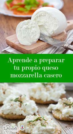 Aprende a preparar tu propio queso mozzarella casero (incluye receta)