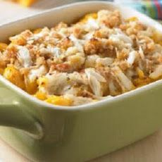 Delux Mac and Cheese With Shrimp and Crab Recipe