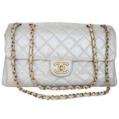 b05466d8942e Chanel Cream Bag. Catwalk Designer Vintage