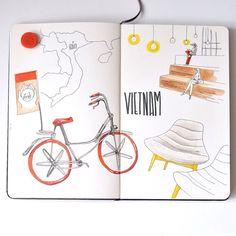 #moleskine #multiliner #copic #sketch #sketchbook