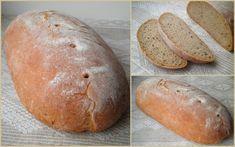 """Этот светлый,пшенично-ржаной заварной хлеб мне напоминает """"Венту"""",хлеб, который мы часто покупали в Шяуляе. У хлеба кисло-сладкий вкус,присущий многим…"""
