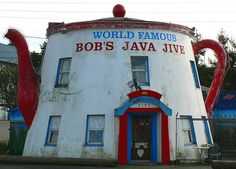 World Famous Bob's Java Jive - 75 years in Tacoma, Washington and still percolating.