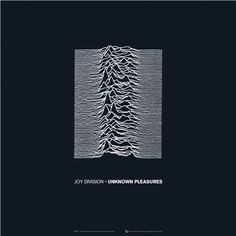 Joy Division, Unknown Pleasures. Nicked the photo from an encyclopedia and created an icon.
