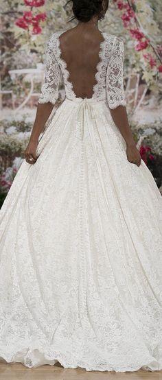 Wedding Dress by Maggie Sottero Fall 2017 NYBFW Runway Show / Sexy yet elegant Cordelia