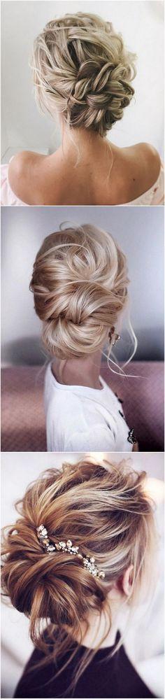 elegant updos wedding bridal hairstyles 2