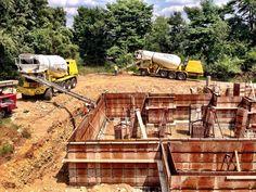 Construction Machines, Construction Services, Grand Cayman Island, Mixer Truck, Concrete Mixers, Cool Trucks, Heavy Equipment, Architecture, Arquitetura