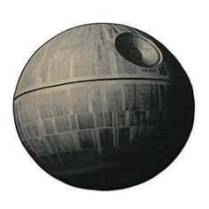 ThinkGeek :: Exclusive Star Wars Death Star Rug - OMG!!!!!  My nephew needs this!
