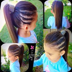 little-girl-hairstyles - Fab New Hairstyle 1 Lil Girl Hairstyles, Princess Hairstyles, Pretty Hairstyles, Braided Hairstyles, Teenage Hairstyles, Kids Hairstyle, Hairstyles Videos, Little Girl Hairdos, Girls Hairdos