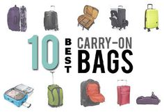 10 Best Carry-On Bags for Every Traveler… (SmarterTravel.com 12.27.13e);  [I'm not impressed with any of the 10…];  11.30.13: The 10 best carry-on bags for each type of traveler. …narrowed down dozens of user-tested bags to come up w/list of 10 exemplary carry-on options, taking into account several criteria, incl. height, weight, maneuverability & all the bells/whistles—from TSA-approved comb. locks to high-perf. materials—in devising this list.