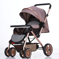 Hot sale baby trolley super light weight folding easy baby cart portable pocket car
