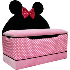 Disney Minnie Mouse Large Toy Box Review At Kaboodle
