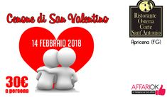 Cenone Di San Valentino A Corte Sant'Antonio