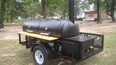 Custom smokers and BBQ trailers built in Texas.