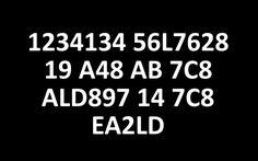 Can you decrypt hidden message (1234134 56L7628 19 A48 AB 7C8 ALD897 14 7C8 EA2LD)?