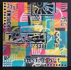 """Hi Everyone   As it's Tuesday this is just a heads up to let you know that I am over at That's Crafty Blog   with a piece of 8"""" x 8"""" wall ..."""